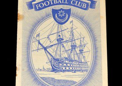 Portsmouth v Blackpool 23.08.1952