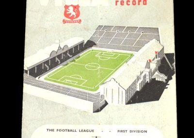 Aston Villa v Preston 08.11.1952
