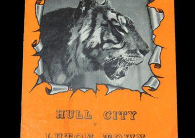 Hull v Luton 08.11.1952