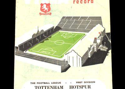 Aston Villa v Spurs 22.11.1952