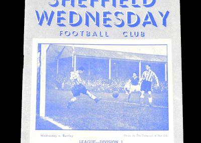 Sheff Wed v Stoke 21.02.1953