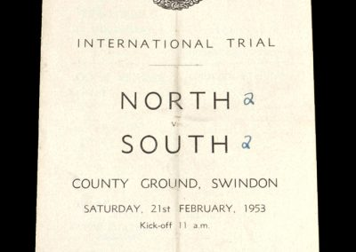 North v South - International Trial Schools Match (Charlton and McGuiness)