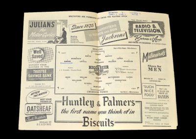 Reading v Swindon 02.05.1953
