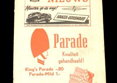 Middlesbrough v Rapid Vienna in Amsterdam 21.05.1953