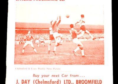 Chelmsford v Bedford 29.08.1964