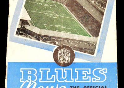 Birmingham City v Spurs 11.04.1959