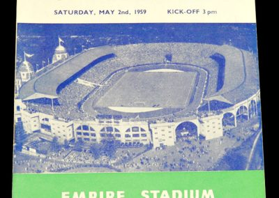 Luton Town v Nottingham forest 02.05.1959 | FA Cup Final