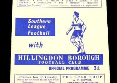 Hillingdon v Guidford 19.10.1964