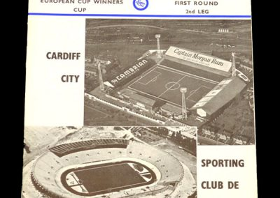 Cardiff v Sporting Lisbon 23.12.1964 | European Cup Winners Cup 1st Round 2nd Leg