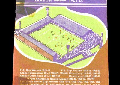 Burnley v Fulham 26.12.1964