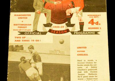 Nottingham Forest v Manchester United 03.09.1958