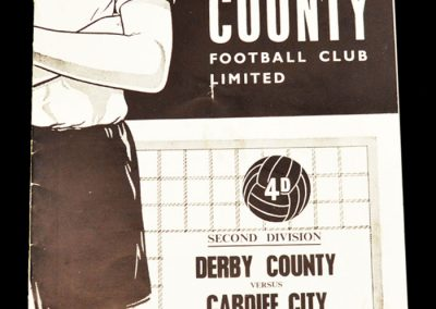 Derby v Cardiff 20.02.1965