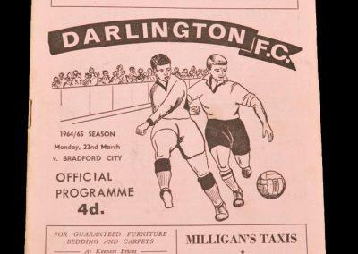 Darlington v Bradford City 23.03.1965