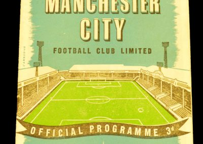 Manchester United v Manchester City 27.09.1958