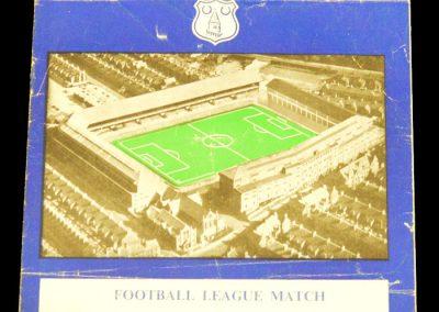 Everton v Manchester United 18.10.1958