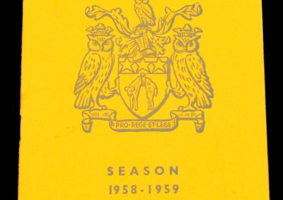 Leeds United v Manchester United 01.11.1958