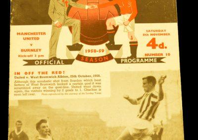 Burney v Manchester United 08.11.1958
