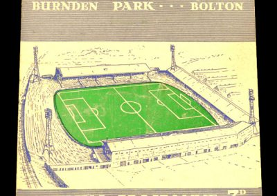 Bolton Wanderers v Manchester United 15.11.1958