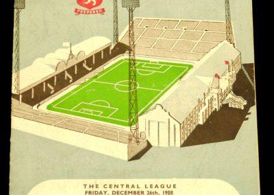 Aston Villa v Manchester United 27.12.1958