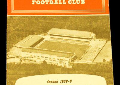 Arsenal v Manchester United 28.02.1959