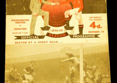 Everton v Manchester United 07.03.1959