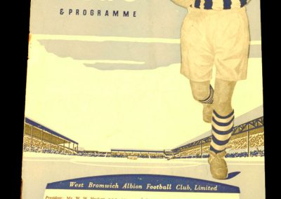 Manchester United v West Bromwich Albion 14.03.1959