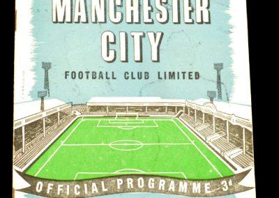Manchester City v Bolton Wanderers 27.08.1958