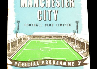 Manchester City v Luton Town 10.09.1958