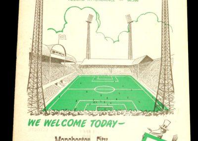 Newcastle United v Manchester City 25.10.1958