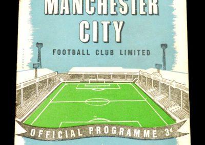 Manchester City v Chelsea 15.11.1958