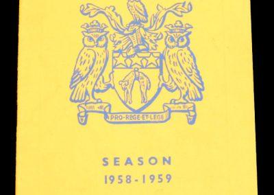 Leeds United AFC v Manchester City 21.02.1959