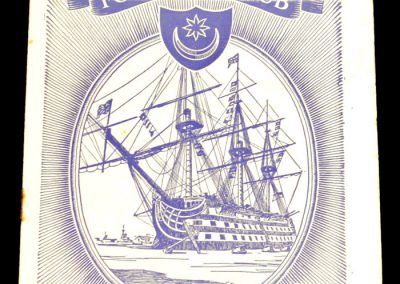 Portsmouth FC v Manchester City 07.03.1959