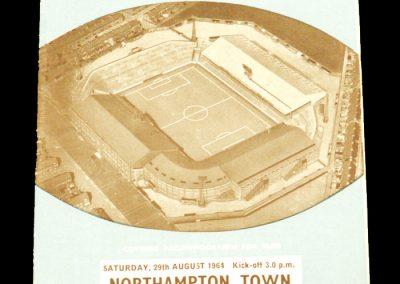 Manchester City v Northampton Town 29.08.1964