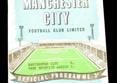 West Bromwich Albion v Manchester City 30.03.1959