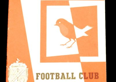 Swindon Town v Manchester City 12.09.1964
