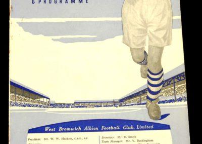 West Bromwich Albion v Manchester City 31.03.1959