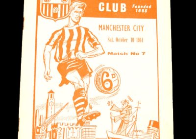 Southampton v Manchester City 10.10.1964