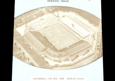 Manchester City v Huddersfield Town 17.10.1964