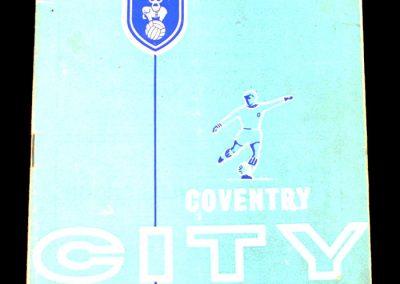 Coventry City v Manchester City 24.10.1964