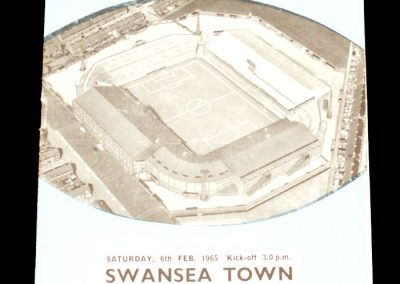 Swansea City v Manchester City 06.02.1965