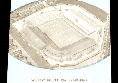 Manchester City v Southampton 20.02.1965