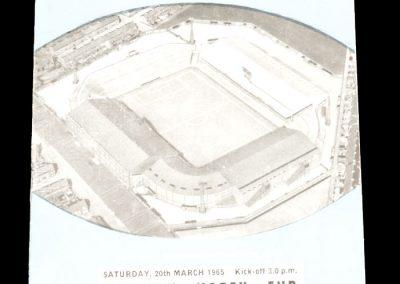 Manchester City v Preston North End 20.03.1965