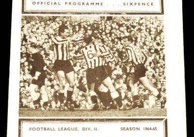 Newcastle United v Manchester City 24.04.1965