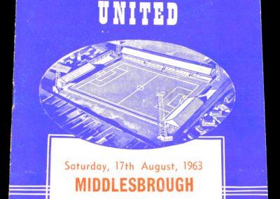 Peterborough United v Middlesbrough 17.08.1963