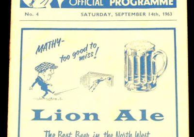 Preston North End v Middlesbrough FC 14.09.1963
