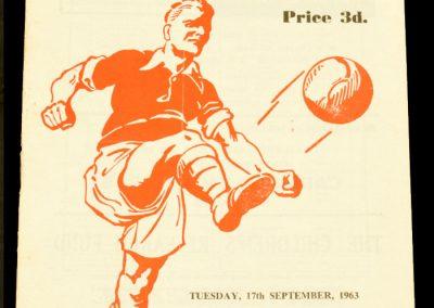 Rotherham United v Middlesborough 17.09.1963