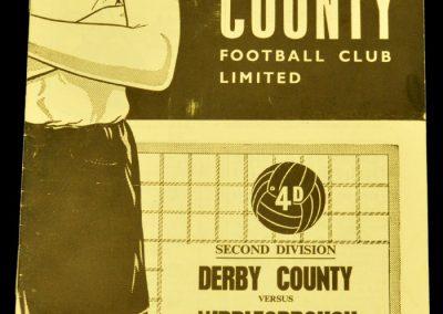 Derby County v Middlesbrough 28.12.1963