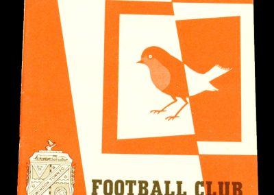 Middlesbrough v Swindon Town 21.03.1964