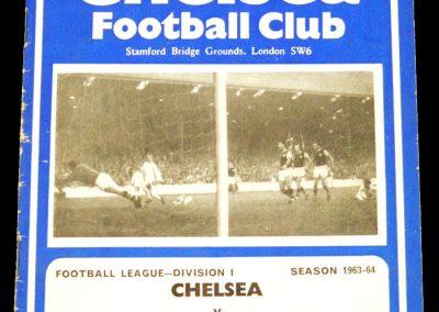 Chelsea v Liverpool 07.09.1963