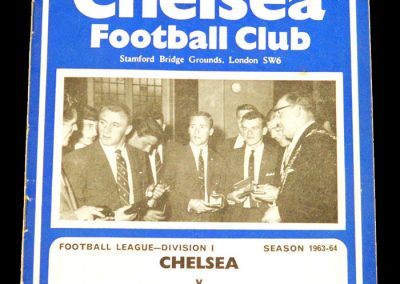 Chelsea v Tottenham Hotspur 21.09.1963